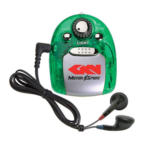 Fm Scanner Radio With Light