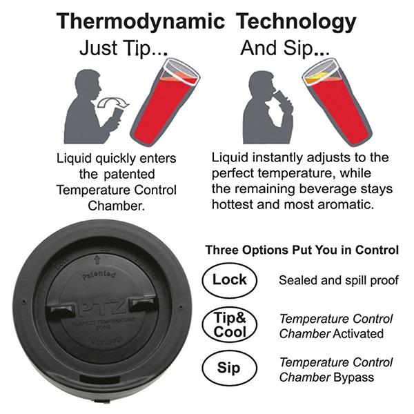 16 Oz. Perfect Temperature Zone Tumbler Ptz™