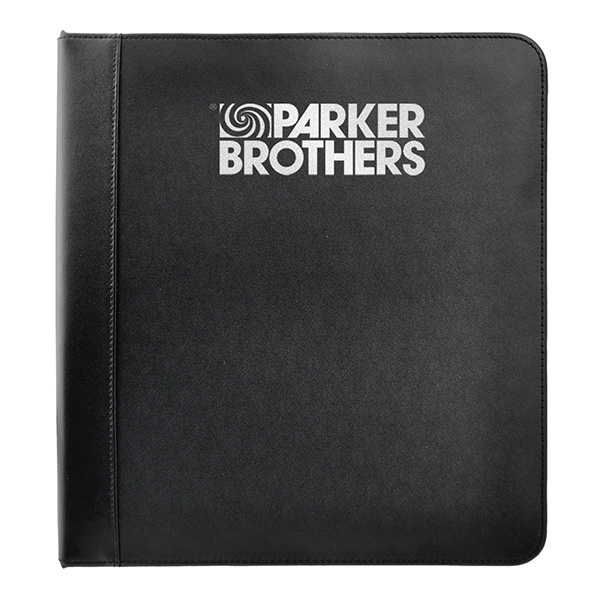 Leather Ring Binder With 1